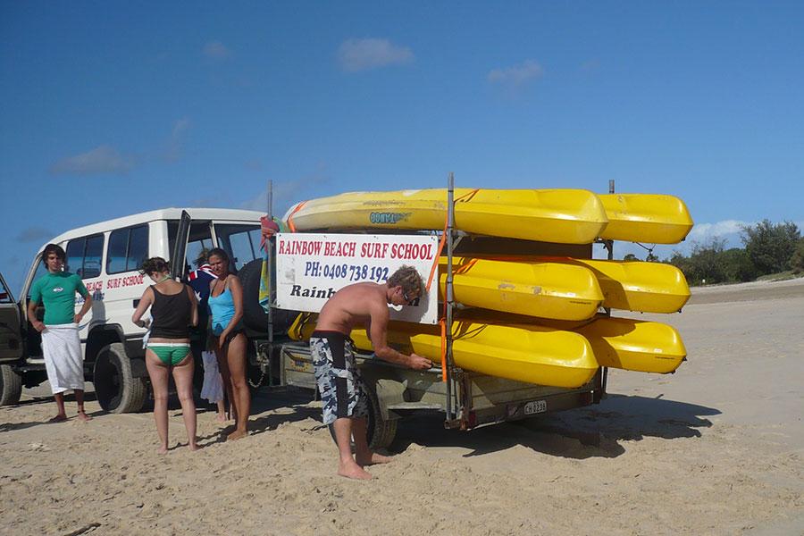 Sufren an der Sunshine Coast