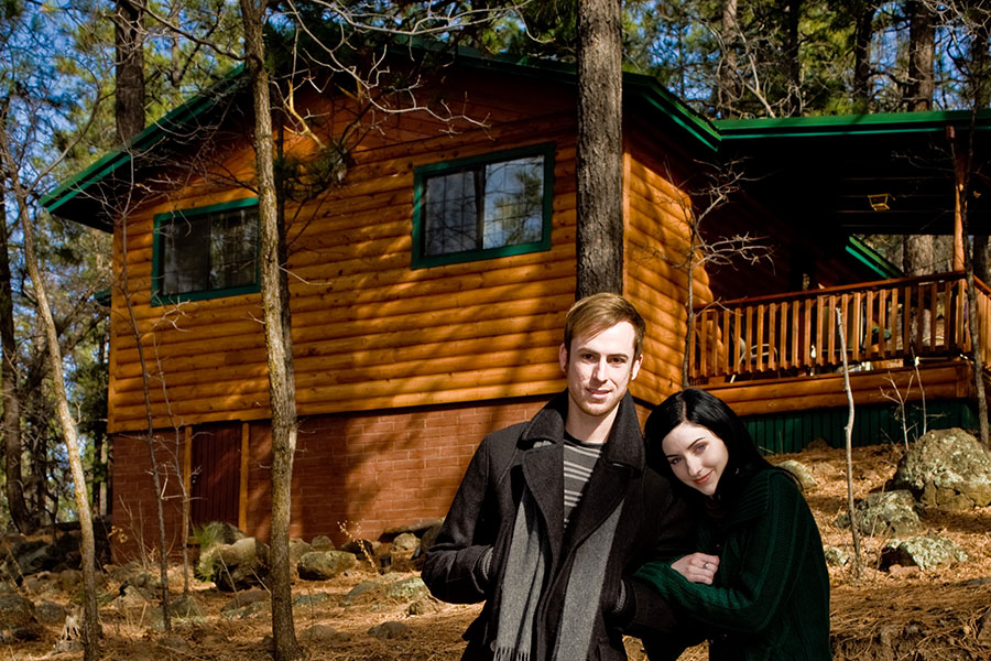 In den Wäldern von Maine