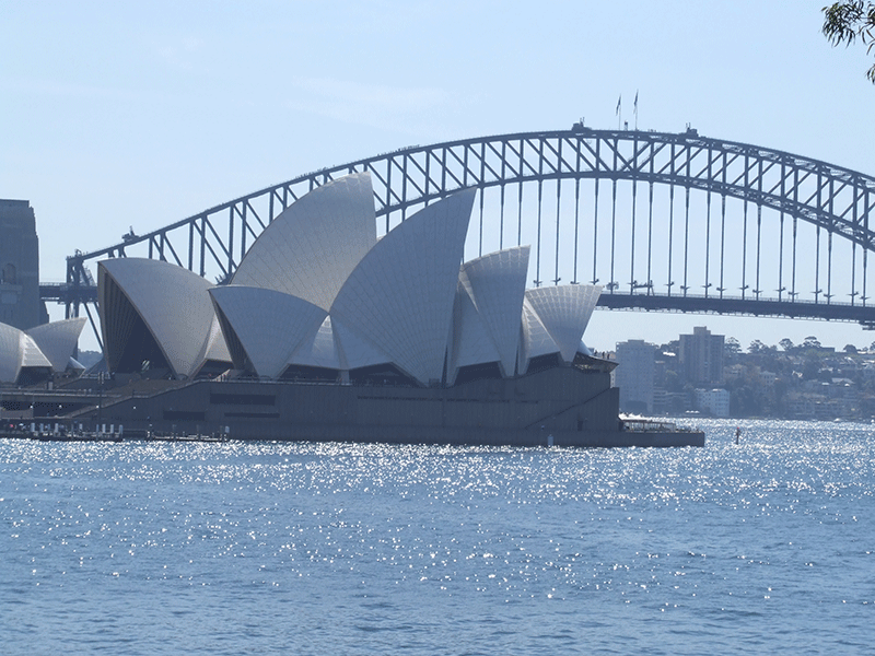 Sydney Opera and Harbour Bridge