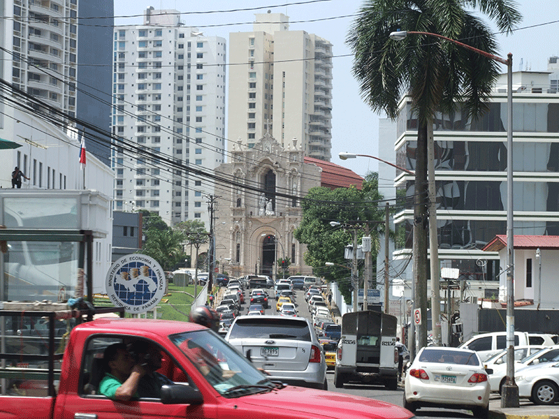 Verkehr in Panama-City