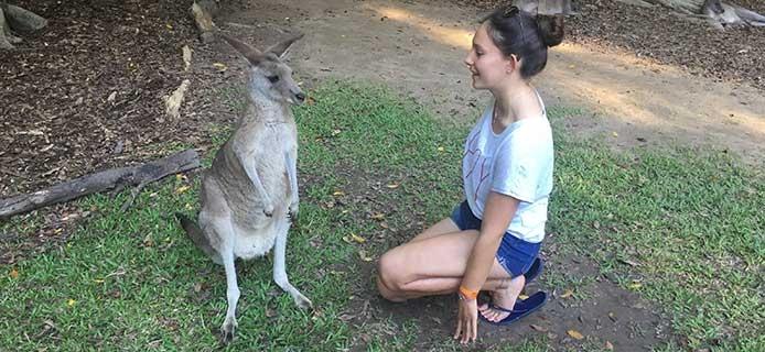 Australien - Leben mit Kängurus